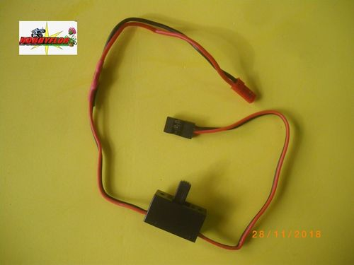 ETRONIX SWITCH SERVO/RECEPTOR MALE JST CONNECTOR ET-001-HOBBYFLOR