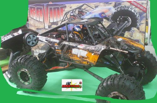 FTX RAVINE 1:10 RTR M.O.A. ROCK BUGGY CRAWLER - BLACK EDITION - FTX5574