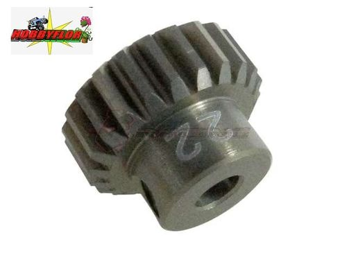 3Racing 48 Pitch Pinion Gear 22T (7075 mit Hard Coating)  3Racing PG4822