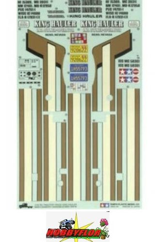 Tamiya 56301 King Hauler Sticker