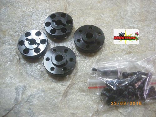 RC4WD 1.9 - 2.2 - 6 LUG STEEL ADAPTER WHEEL