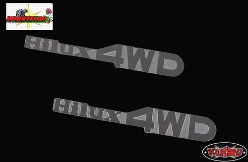 RC4WD 1/10 HILUX 4WD EMBLEM SET FOR MOJAVE AND HILUX BODY Z-S0930