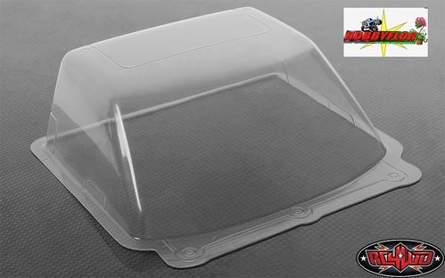 RC4WD CLEAR LEXAN WINDSHIELD FOR TAMIYA HILUX OR RC4WD MOJAVE BODY Z-B0004