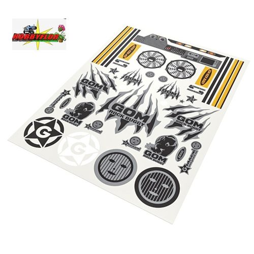 GMADE GOM DECAL SHEET GM60051