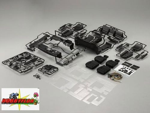 KILLERBODY Cockpit Set (Right & Left). For the KB48601 1/10 Toyota Land Cruiser Hard Body KB48615