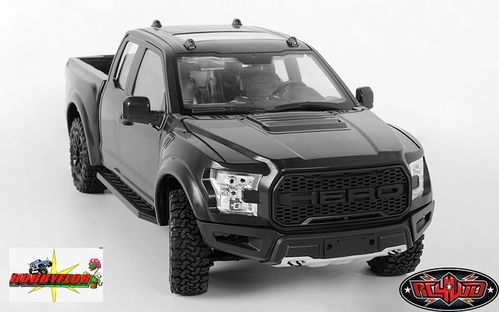 RC4WD  1/10 DESERT RUNNER SCALE TRUCK ARTR (Montado sin electronica) W/BODY SET (BLACK) VV-JD00027