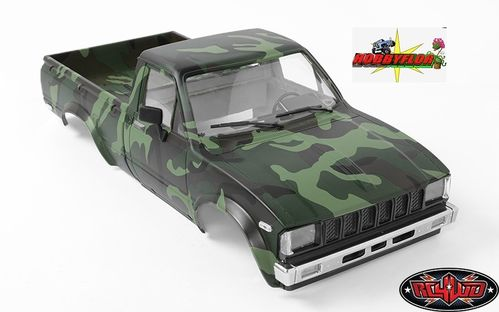RC4WD COMPLETE MOJAVE 2 BODY SET FOR TRAIL FINDER 2 (CAMO) Z-B0115 Wheelbase: 287mm