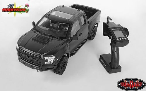 RC4WD 1/10 DESERT RUNNER RTR SCALE TRUCK W/HERO HARD BODY SET (BLACK) VV-JD00029