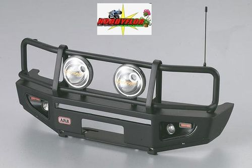 KILLERBODY 1/10TH ALLOY (Metalico) BUMPER W/LED UPGRADE SETS MATT/BLACK KB48689