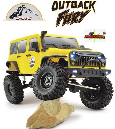FTX OUTBACK FURY 4X4 RTR 1:10 TRAIL CRAWLER FTX5579