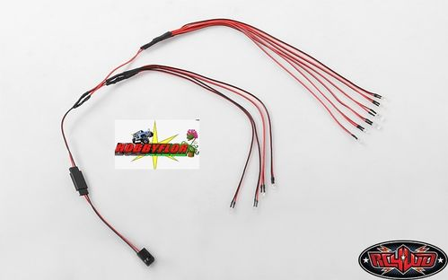 RC4WD LED LIGHT SET FOR BLAZER BODY SET 10 led Z-E0084