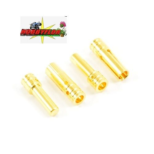 ETRONIX 3.0MM GOLD CONNECTORS (2PR) ET0610