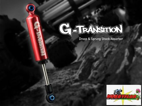 Gmade G-Transition Shock Red 80mm (4) for 1/10 Crawler & Truck GM20501