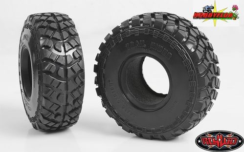 "RC4WD TRAIL RIDER 1.9"" OFFROAD SCALE TIRES (2pc) Z-T0136 Diametro 112mm"