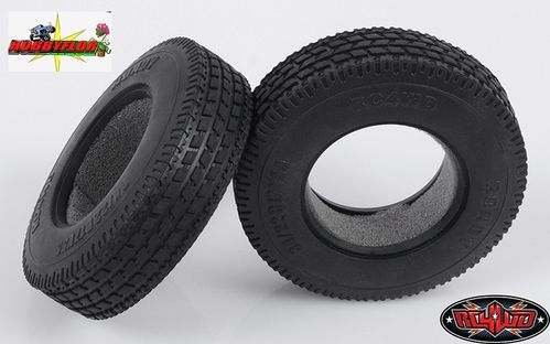 "RC4WD ROADY 1.7"" COMMERCIAL 1/14 SEMI TRUCK TIRES (2pc) Z-T0032 Diamtero 83,50mm"