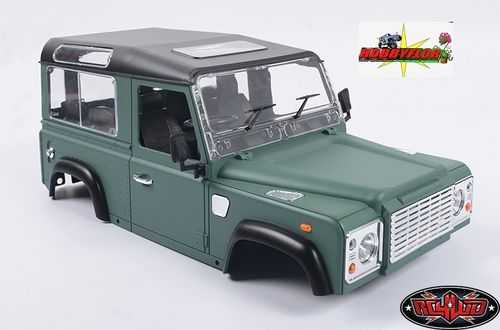 RC4WD 1/10 LAND ROVER DEFENDER D90 LIMITED EDITION PRE-PAINTED GREEN BODY Z-B0062
