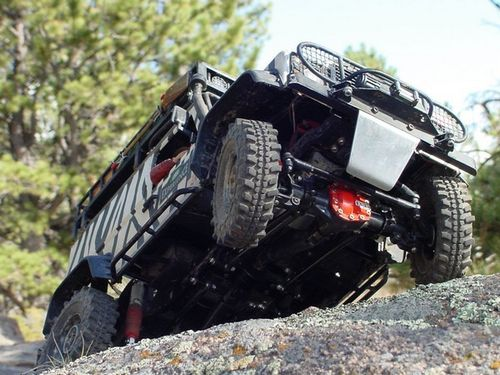 RC4WD ARB SPECIAL EDITION T-REX 60 FRONT & REAR PLASTIC COMPLETE AXLE ALUMINIUM Knuckles Z-A0052
