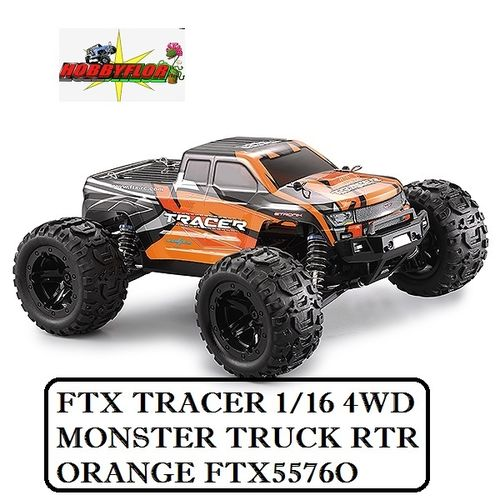 FTX TRACER 1/16 4WD MONSTER TRUCK RTR - ORANGE FTX5576O