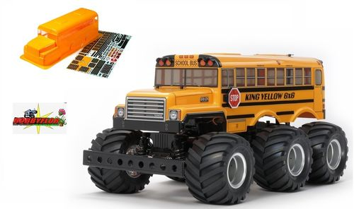 Tamiya King Yellow 6x6 Con carroceria pintada (G6-01) LIMITED EDITION !! - Kit con motor 47376