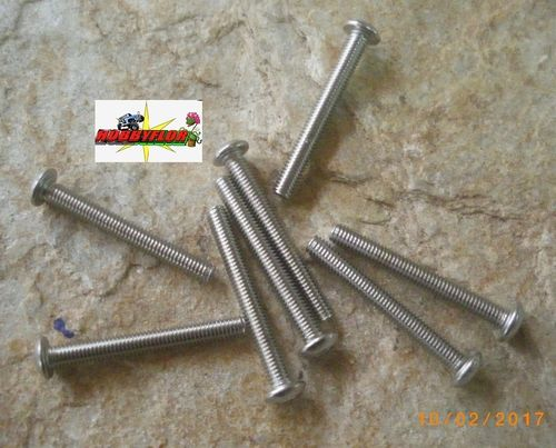 Tornillos acero inoxidable M3 ISO 7380 (M3x25mm) (8pc)
