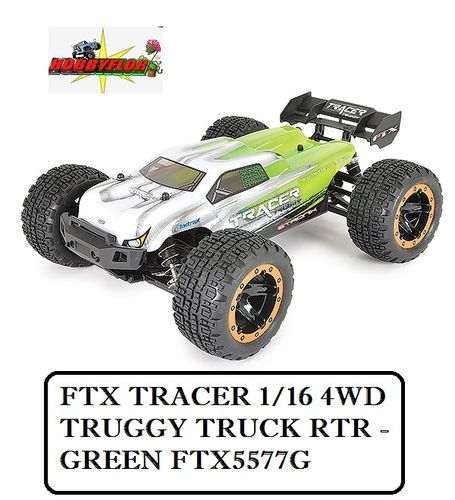 FTX TRACER 1/16 4WD TRUGGY TRUCK RTR - GREEN FTX5577G