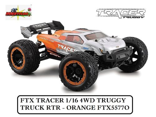 FTX TRACER 1/16 4WD TRUGGY TRUCK RTR - ORANGE FTX5577O