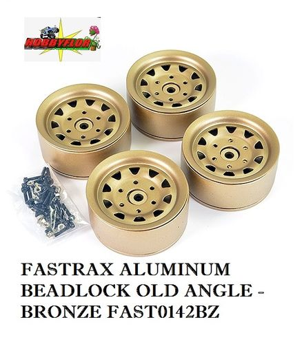 FASTRAX ALUMINUM BEADLOCK OLD ANGLE - BRONZE FAST0142BZ