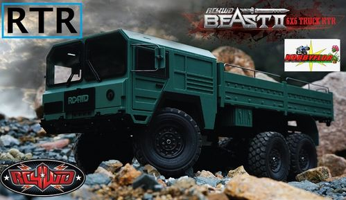RC4WD BEAST II 6X6 TRUCK RTR Z-RTR0028 (con descuento 1033,05€)