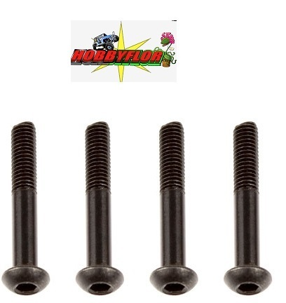 FTX OUTBACK FURY REAR LOWER SUSPENSION ARM SCREW 3X29MM (4PC) FTX9196