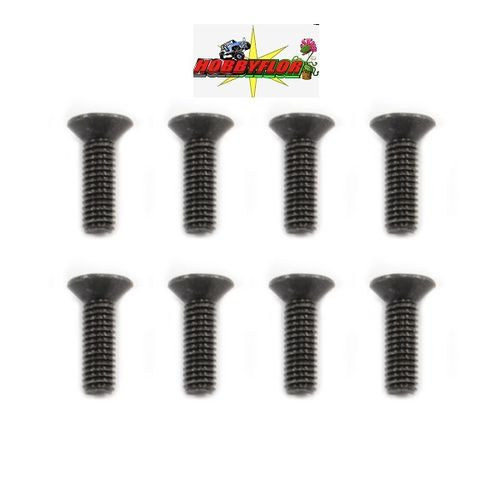 FTX MAULER FLATHEAD SCREW M3X10MM (8pc) FTX8821