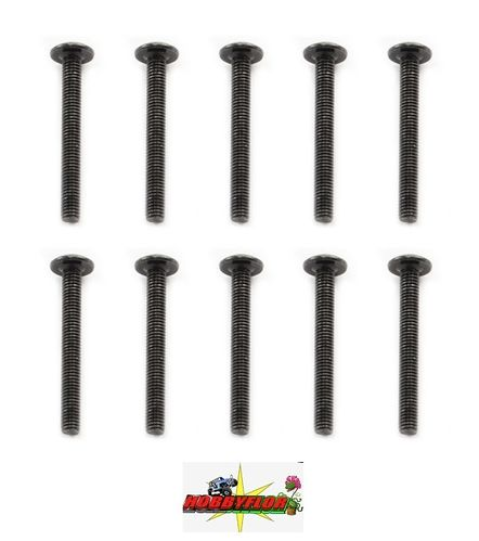 FTX MAULER BUTTON HEAD SCREW M3X26MM (10pc) FTX8820
