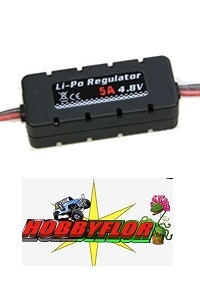 ETRONIX LI-PO REGULATOR 4.8V 5A W/CASING 20X14X49MM ET0555