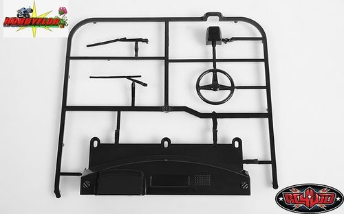 RC4WD MOJAVE II DASH AND WIPER PARTS TREE (BLACK) Z-B0080