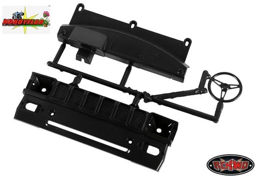 RC4WD TOYOTA HILUX MOJAVE GRILL AND DASH PARTS TREE (BLACK) Z-B0041