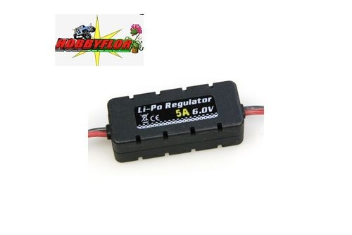 ETRONIX LI-PO REGULATOR 6.0V 5A W/CASING 20X14X49MM ET0556