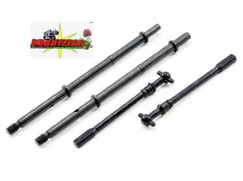FTX OUTBACK FRONT+REAR DRIVE SHAFT SET (serie) option (outback-kulak-barrage-temper-stoner) FTX8161
