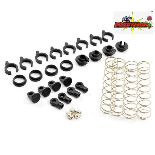 FTX OUTBACK SPRING SET & NYLON PARTS (4) FTX8149 option (outback-kulak-barrage-temper-stoner)