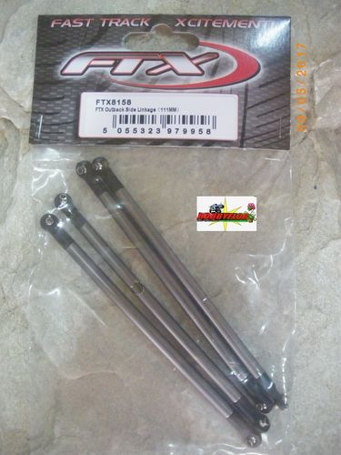 FTX OUTBACK SIDE LINKAGE (111MM) FTX8158 option (outback-kulak-barrage-temper-stoner)