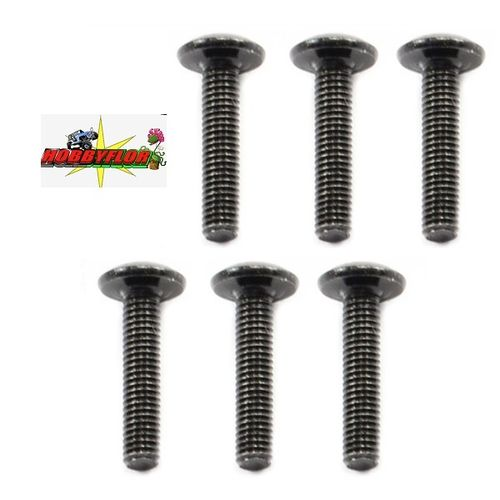 FTX8217 OUTBACK BUTTON HEAD SCREW M3x14 (6)