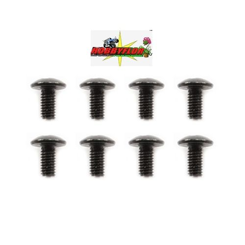 FTX8218 OUTBACK BUTTON HEAD SCREW M3x6 (8)