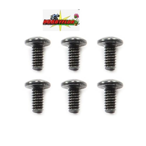 FTX8212 OUTBACK BUTTON HEAD SCREW M2x4 (6)