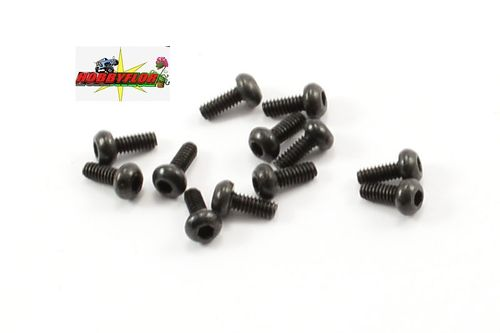 FTX ROUND HEAD HEX. SCREW 2x6MM For ibex ravine y otros modelos (12pc) FTX7456
