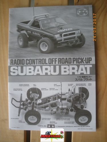 Tamiya Manual Subaru Brat 58384