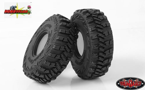 "RC4WD GOODYEAR WRANGLER MT/R 1.9"" 4.75"" SCALE TIRES (2 gomas) Z-T0158 Diametro 120mm"