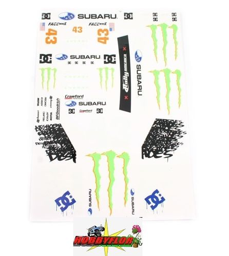 MATRIXLINE WRX DC MONSTER DECA LS SET PC-A011