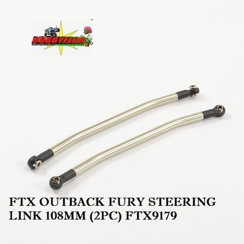 FTX OUTBACK FURY STEERING LINK 108MM (2PC) FTX9179
