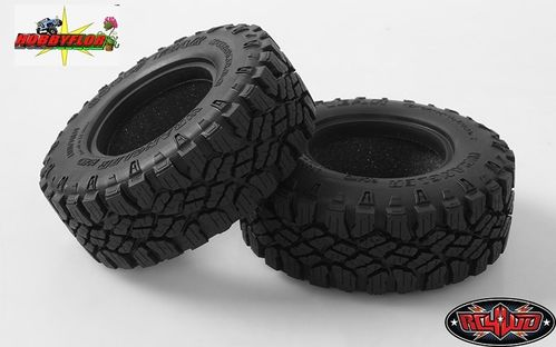 "RC4WD GOODYEAR WRANGLER DURATRAC 1.9"" SCALE TIRES (2 gomas) Diametro 96.6mm Z-T0150"