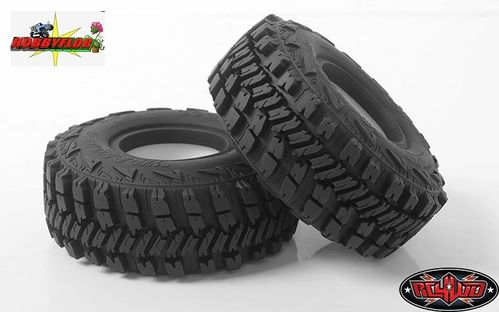 "RC4WD GOODYEAR WRANGLER MT/R 1.55"" SCALE TIRES (2 gomas) Z-T0159 Diametro 90mm"