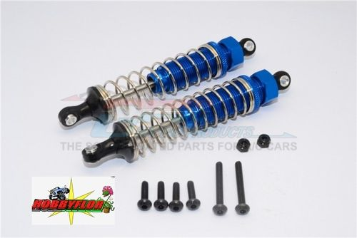GPM ALLOY REAR ADJUSTABLE SPRING DAMPER (95MM) - Azul 1PR TT02B095R-B