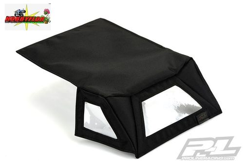 PROLINE TIMBERLINE SOFT TOP (BLACK) FOR AXIAL SCX10 Jeep rubicon unlimited CAGE PL6285-00